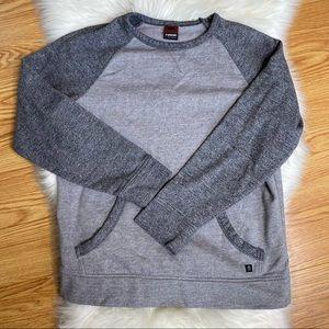 Tony Hawk Pullover Grey Sweatshirt Shirt Pockets M